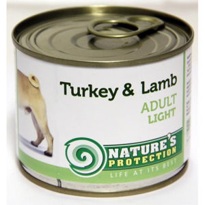 Nature's Protection konzerva Adult Light Turkey&Lamb 200 g