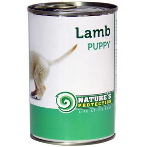 Nature's Protection konzerva Puppy Lamb 400 g