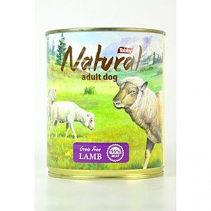 TOBBY konz. Natural Lamb 850 g
