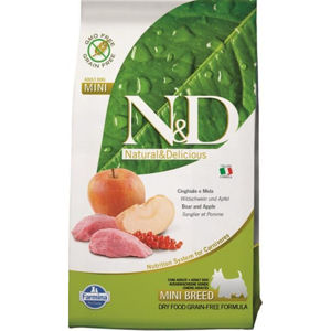 N&D Prime Adult Mini Boar & Apple 800 g