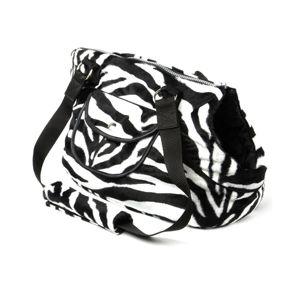 Vsepropejska Journey taška pro psa Barva: Černo-bílá, Dle váhy psa: do 4 kg