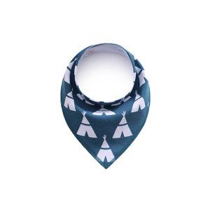 Vsepropejska Ingo modrý šátek pro psa