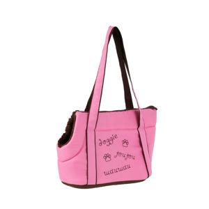 I love pets Erin cestovní taška pro psa Barva: Růžová, Dle váhy psa: do 4 kg