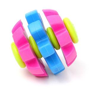 Vsepropejska Revol barevný gumový míček pro psa | 7 cm popsat
