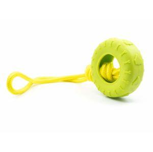 Vsepropejska Nysa přetahovadlo pro psy | 36 cm Barva: Zelená