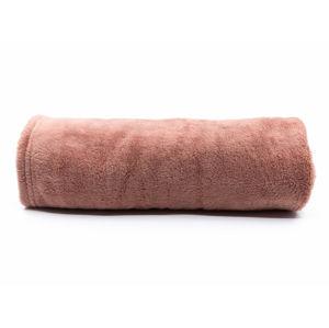 Vsepropejska Ella starorůžová fleecová deka pro psa