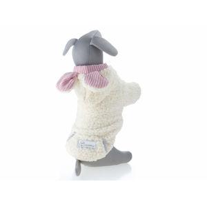 Vsepropejska Kira měkoučká mikina pro psa Barva: Bílá, Délka zad psa: 30 cm, Obvod hrudníku: 34 - 40 cm