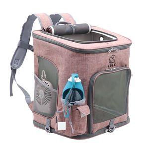 Vsepropejska Alley růžový luxusní batoh pro psa Dle váhy psa: do 10 kg