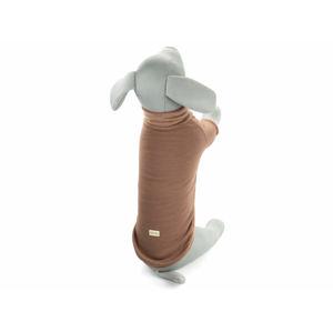Pes-tex Edy elastický rolák pro psa Barva: Hnědá, Délka zad psa: 33 cm, Obvod hrudníku: 36 - 44 cm