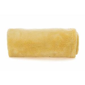 Vsepropejska Ella tmavě žlutá fleecová deka pro psa