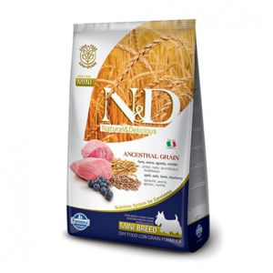 N&D Low Grain Adult Mini Lamb & Blueberry 800 g