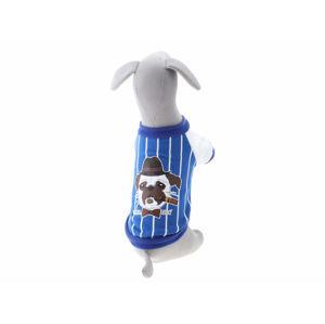 Vsepropejska Herry mikina pro psa Barva: Modrá, Délka zad psa: 32 cm, Obvod hrudníku: 45 - 48 cm