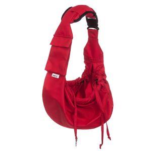 HobbyDog Vox cestovní taška pro psa přes rameno Barva: Červená