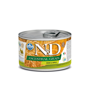 N&D Low Grain Adult Boar & Apple Mini 140 g