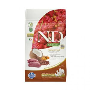 N&D Grain Free Quinoa Skin&Coat Venison & Coconut 800 g