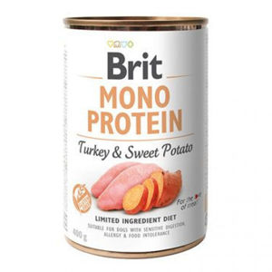 Brit konz. Mono Protein Turkey & Sweet Potato 400 g