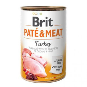 Brit konz. Paté & Meat Turkey 400 g