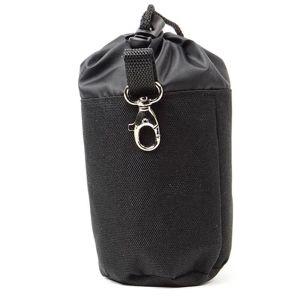 Vsepropejska Spok pamlskovník s karabinou pro psa Barva: Černá
