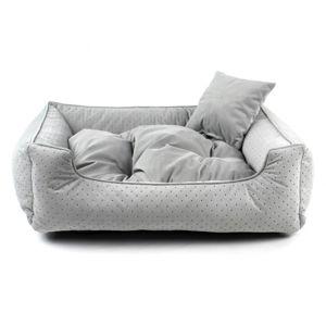 Vsepropejska Snug šedý pelech pro psa Rozměr: 70 x 55 cm