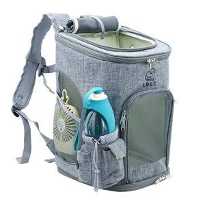 Vsepropejska Alley tmavě-šedý luxusní batoh pro psa Dle váhy psa: do 6 kg