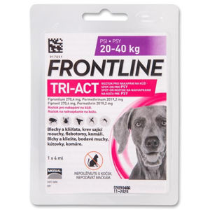 Frontline TRI-ACT spot-on dog L a.u.v. sol 1 x 4ml
