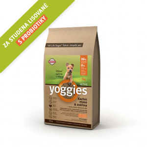 Yoggies MINI Active kachna a zvěřina 15 kg